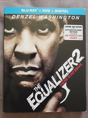 The Equalizer 2 (Blu-Ray, DVD, Digital) NEW