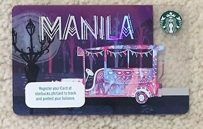 Starbucks 2016 Philippines Manila city card SOLD OUT