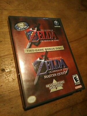 The Legend of Zelda Ocarina of Time and Master Quest (for Nintendo GameCube)