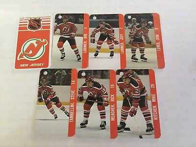 New Jersey Devils NHL NHLPA Hockey Collection Vintage Rare Team Key Chain 1983