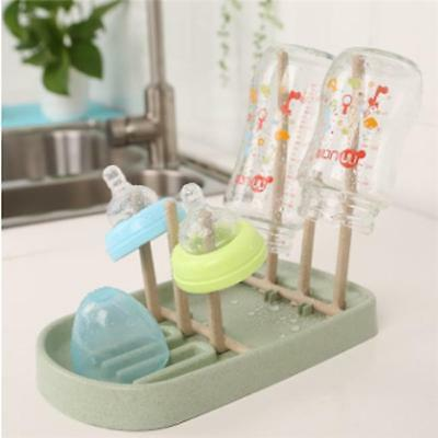 Useful Folding Baby Bottle Drying Rack Clean Shelf Holder Stand Organizer LIN
