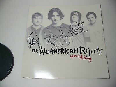 The All American Rejects Autographed Poster