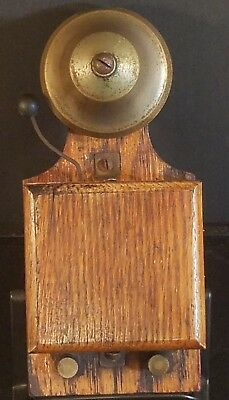 Antique Wooden Door Bell