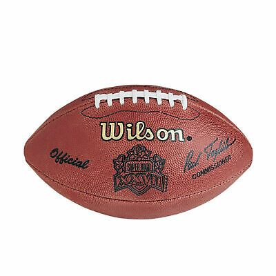 Super Bowl XXVII (27) Wilson Official Leather Authentic Game Football - Cowboys
