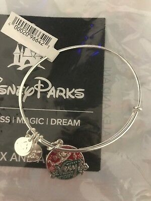 Alex and Ani Mickey's Very Merry Christmas Party 2018 Silver Bracelet Disney NEW
