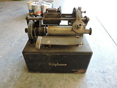 Vintage Ediphone Grand Prize Sesquicentennial, Electric, Record Cylinder Player