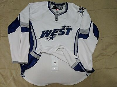 NHL All Star Authentic Reebok Jersey 2008 Edge 1.0 7187 Western Conference cc7946699
