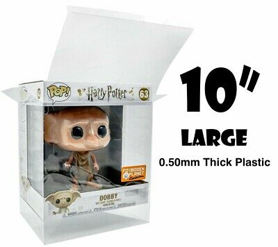 10 Inch Funko POP! PROTECTOR 0.50mm Fits Dobby Green Goblin Bulbasaur Toothless