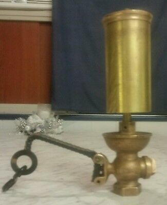 "Vintage 2-1/2"" Penberthy  Brass Steam Whistle ""steampunk""!"