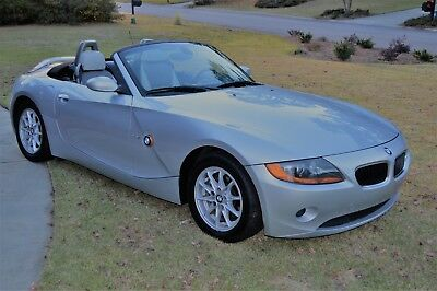 2004 BMW Z4 ROADSTER BMW Z4 Convertible Immaculate Condition LOW MILES