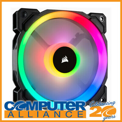"120mm Corsair ""Light Loop Series"" LL120 RGB PWM Case Fan PN CO-9050071-WW"