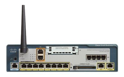Cisco UC540 with BRI Unified Communications 500 Series (UC520-16) - Used