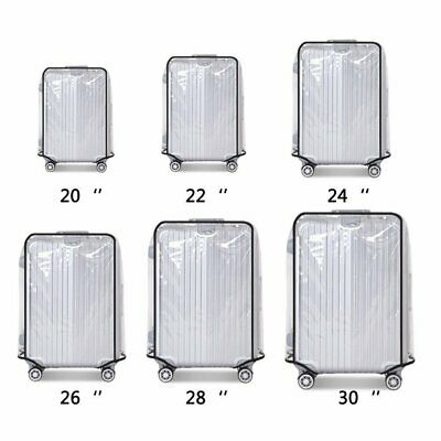 PVC Transparent Travel Luggage Protector Suitcase Cover Dustproof Waterproof