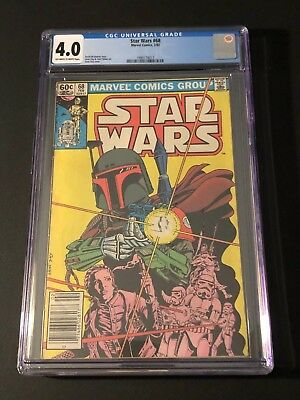 Star Wars #68 CGC 4.0 1st Boba Fett Cover David Michelinie Marvel Comics 1983
