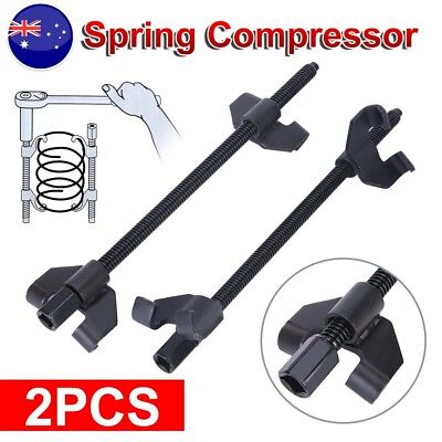 2x Coil Spring Compressor Clamp Heavy Duty Quality Truck Car Auto Tool Set 380mm