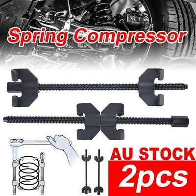 2x Coil Spring Compressor Car Truck Auto Tool Set 380mm Heavy Duty Quality Clamp