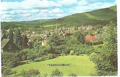"VINTAGE POSTCARD:""TANNOCHBRAE"" (Callander) from ""Arden House"" White Heather card"