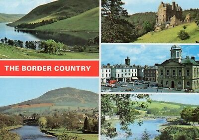Border Country : Inc. St. Mary's Loch: Tweed & Eildon Hills: Square, Kelso :