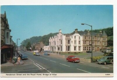 Bridge of Allan : Henderson Street & Royal Hotel