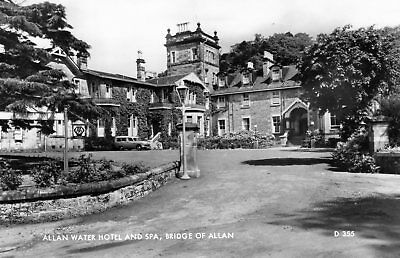 Bridge of Allan: Allan Water Hotel & Spa (card ref D355)