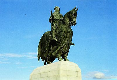 Bannockburn: Bruce Memorial Statue : Stirling.