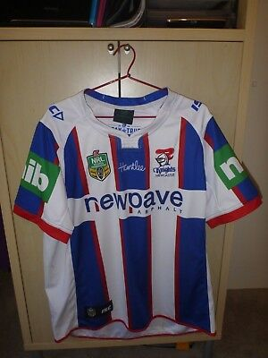 Mens Newcastle Knights Rugby League Jersey Size 2Xl
