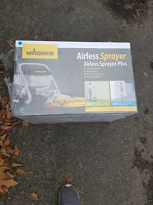Wagner Airless paint sprayer Plus RRP £389.99
