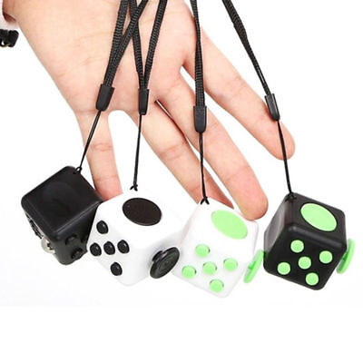 Upgraded Magic Fidget Cube Anti-anxiety Adults Stress Relief Kids Toy Gift OU