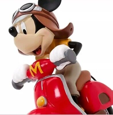 Figurine Mickey Mouse Scooter Disneyland Paris