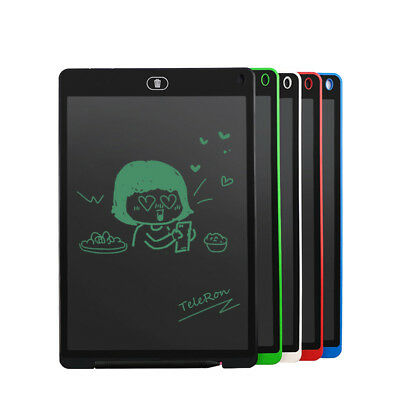 Tablet 8.5 inch LCD Writing Drawing e-Writer Memo Message Board Kids Children