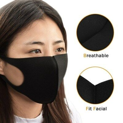 Dust Mask Respirator Anti Pollution Pm2.5 Air Face Masks Washable And Re Kqs