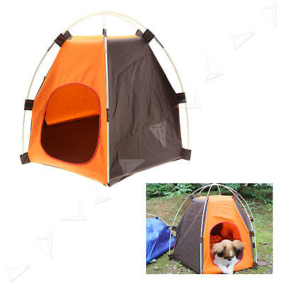 Pet Dog Cat Puppy Portable Outdoor Carry Carrier Cage Bag Crates Kennel Tent