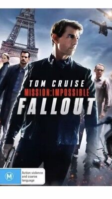 Mission Impossible 6 : Fallout : NEW DVD : Australian Release