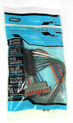 metra 71 5520 24 pin oem wire harness for select 2003 up fordmetra turbowire oem m100 wire harness for ford mercury lincoln 85 04 pn 71