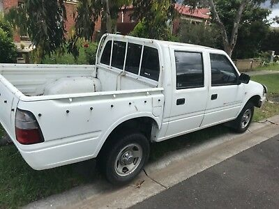 Holden Rodeo TF Diesel Manual 2002