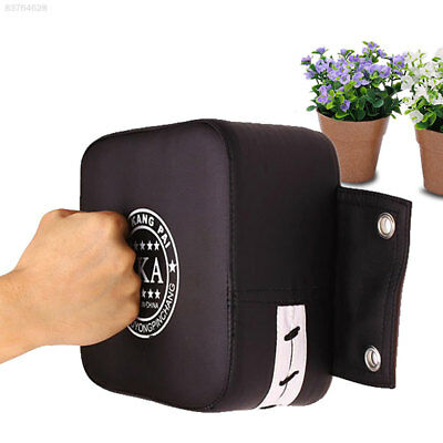 859B Leather Wall Boxing Target Punch Pad Taekowndo Punching Training Bag FUN