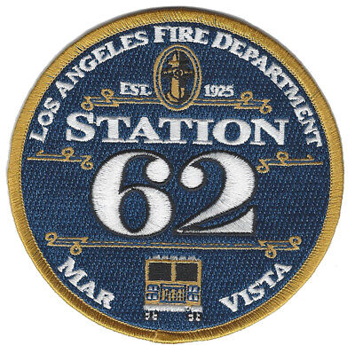 Lafd Station 62 New Dec. 2018 (California) Fire Patch