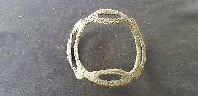 Nice large 1700 hundreds shoe buckle in uncleaned condition found UK. L94w