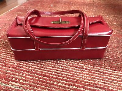 Vintage StyleCraft Miami Pocketbook Red