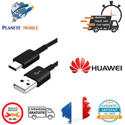 Cable Originale Huawei Type-C pour Honor 8