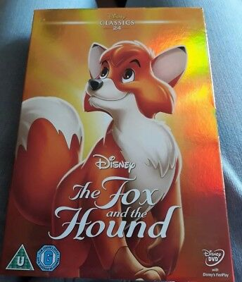 """Disney """"Fox & The Hound"""" New & sealed DVD with limited edition o-ring slipcover"""