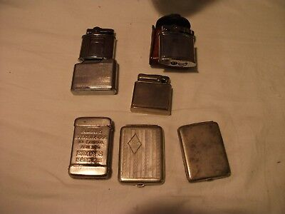 Vesta cases and lighters