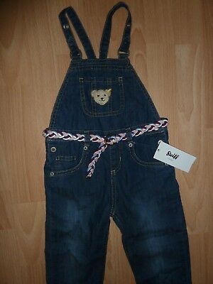 5a45b13bf0083 Steiff Baby-Jungen Latzhose Knitted Jeans 6843602