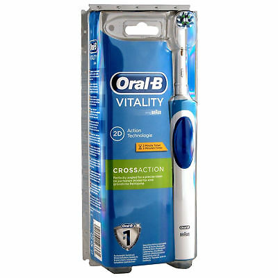 Braun Oral-B Vitality CrossAction Electric Rechargeable Power Toothbrush