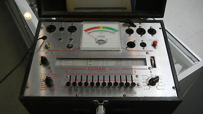Conar Model 221 Tube Tester with Manual (Tested and Works) Used
