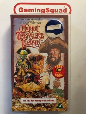 Muppet Treasure Island VHS Video Retro, Supplied by Gaming Squad