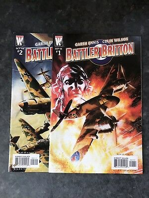 Battler Britain #1 #2 Garth Ennis. Wildstorm.