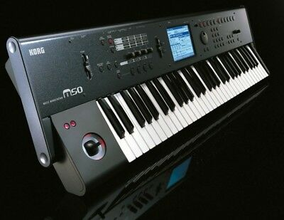 Korg M50, Synthesizer, Keyboard, Workstation (incl. Case)