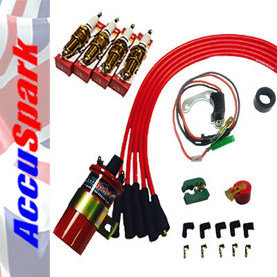 Classic Mini up to 1974 AccuSpark Electronic Ignition Performance kit Neg Earth