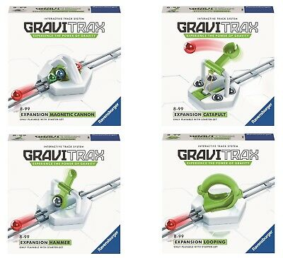PACK 4 EXTENSIONES GRAVITRAX EXPANSION: Looping + Hammer + Cannon + Catapult